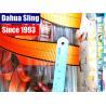 China Customized 1T Red Simplex Bulk Polyester Webbing Belt 30mm Width Low Elongation wholesale