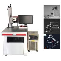 China Phone Case Wire UV Laser Marking Machine 30000 Hours Laser Source Life wholesale