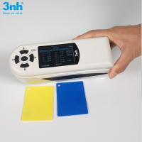 China NH310 Color Difference Meter PC Software Portable Colorimeter With Color Difference Formula on sale