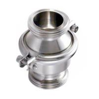 China Stainless Steel SS304 Hygienic Sanitary Male Threaded Non-Return  Check Valve wholesale