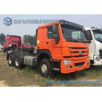 China 6x4 Prime Mover 371 HP Sinotruk HOWO Tractor Truck HC16 Axle ISO CCC Listed wholesale