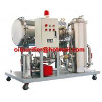 China Light Fuel oil purifier, Gasoline Oil Dehydration filteration remove particles 50% water, Diesel Oil Water Separator wholesale
