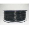 China High Precision Black PETG 3D Printer Filament 1.75MM 1kg / rolls wholesale