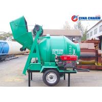 China 10 - 14m3 / H JZR350 Diesel Cement Mixer , Automatic Small Cement Mixer wholesale