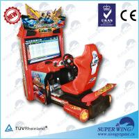 China DG-099 42 inch LCD Speed driving car electronic video game machine on sale