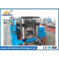China Solar PV Bracket Roll Forming Machine AC 45KW 20 Stations Gearbox Transmission on sale