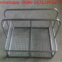 China Easy to clean and durable stainless steel wire mesh filter disinfection basket/medica wire mesh baskets wholesale