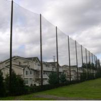 China Baseball Golf Barrier Netting Polyethylene Polyester Nylon Material wholesale