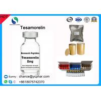 China Top Purity Tesamorelin Peptide /TH9507 Reduce Excess Deep Belly Fat Egrifta And Muscle Growth CAS 106612-94-6 on sale