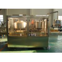 China Tin Liquid Bottle Can Filling Machine Equipment for Tea / Beverage SUS 304 316 wholesale
