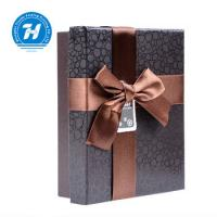 China Recyclable Chocolate Paper Box With Bow - Knot Kraft Paper Duplex Board wholesale
