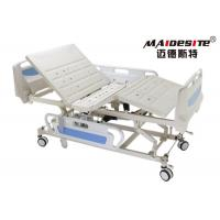 China ABS 5 Functions Fully Electric Hospital Bed / Medical Electric Beds For Disabled on sale