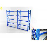 China Customizable Domestic Medium Duty Steel Rack With Wheels Butterfly Holes wholesale
