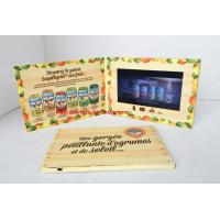 China Customized 4.3 inch foldable promotional video booklet  /  video in print wholesale