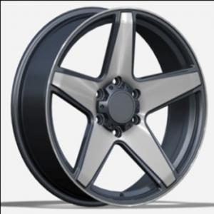 China customized 20 inch black machine suv 6x139.7 alloy car wheel star rims on sale