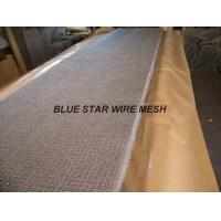 China Square Wire Mesh Mist Eliminator Stainless Steel / MONEL Demister Pad In Air Conditioner wholesale