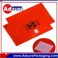 China Custom Medical Biohazard Bags /Specimen Bags /Autoclave Bags/Medical Ziplock Bags on sale