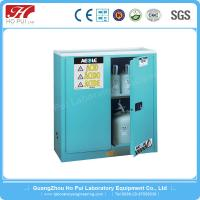 China Steel Flammable Storage Cabinet , Barrel Type Chemical Storage Cabinets wholesale