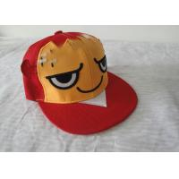 Buy cheap Promotional Flat Brim Hip Hop Caps / Strap Back Caps With Cartoon Design from wholesalers
