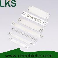 Stainless steel marker plates Manufactures