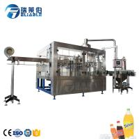 China 6000 BPH Plastic Bottle Carbonated Drink Filling Machine For Drinking Water Production Line wholesale
