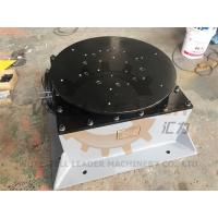 Buy cheap Floor Welding Positioner Turntable Unlimited Rotation 400kg Load 800mm Round from wholesalers