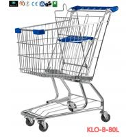 China American Style Elderly / Disabled Shopping Trolley , Metal Supermarket Carts wholesale