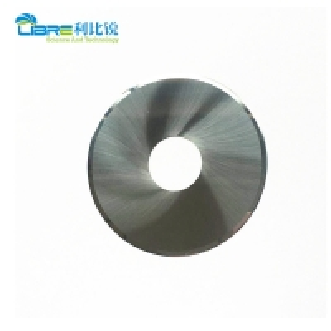 China Single Bevel Filter Cutting 0.35mm Carbide Circular Blades wholesale