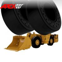China APEX 18.00-25 Solid Tire, Cushion Tyre for Wheel Loader, Integrated Tool Carrier, Elevating Motor Scraper wholesale