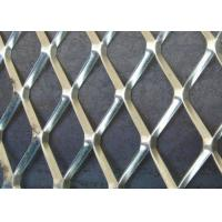 China 0.3MM STRAND *2.3CM*4CM Aliminum Expanded Metal Mesh /10MM*20MM Hot Dipped Galvanized Mesh wholesale