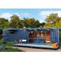 China Single  Story  Storage Ready Made Shipping Container Homes  To Live In  Foldable wholesale