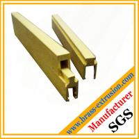 China C38500 CuZn39Pb3  CuZn39Pb2 CW612N C37700 electrical components copper alloy extrusion profiles wholesale