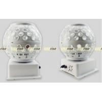 China Led Crystal Magic Ball Light , Sound Activated Led Magic Ball Disco Light wholesale