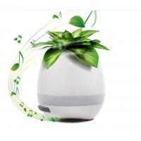 2017 Trending Product For Christmas Gift Music Flower Pots Wholesale With LED Light And Bluetooth Manufactures