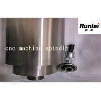 China Water Cooling Little Vibration 4000 Watts CNC Spindle Motos With 4 Bearings wholesale