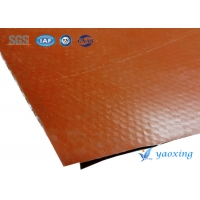 China Heat Resistant Silicone Coated Fiberglass Fabric 150m 200m wholesale