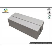 China White Cardboard Jewelry Gift Boxes , Paper Packaging Cardboard Shoe Boxes wholesale