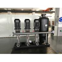 China IP40 Water Supply Equipment  , 11kw Water Supply Pump Public Areas Applied wholesale