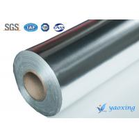 China Heat Isolation Aluminum Foil Fiberglass Cloth Aluminized Fiberglass Cloth wholesale