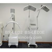LED beauty machine with two panels RED BLUE YELLOW INFRARED led pdt light BS-LED3E