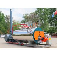 China Clothing Industry Gas Steam Boiler Fire Tube Structure Horizontal Style wholesale