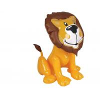 Buy cheap Wild King Inflatable Lion Toy , PVC Inflatable Water Animals High Durability from wholesalers