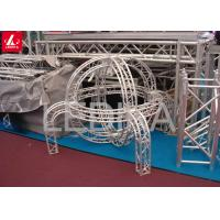 Buy cheap Lightweight Roof Aluminum Square Truss Steel Frame Buildings 500mm X 600mm from wholesalers