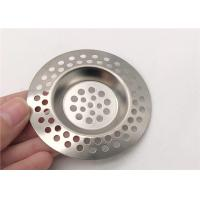 China Multihole Stainless Steel Sink Strainer High Grade Anti - Clogging wholesale