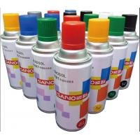 China fast dry  auto  acrylic Aerosol spray paint  ,transprant  and other colors , SANO brand  ,400ml ,238G wholesale