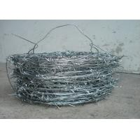 China 1.5cm - 3 Cm Barbed Length Barbed Wire Fence 16 X 16 Double Strand For Fence wholesale