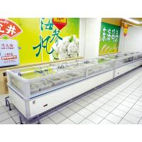 China Single Sided Produce Cooler Display For Supermarket Frozen Food on sale