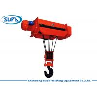 China 1 Ton - 50 Ton Electric Wire Rope Hoist With Overspeed Protection System on sale