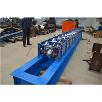 China Blue Steel Fully Automatic Galvanised Roof Ridge Cap Roll Forming Machine wholesale