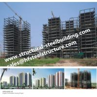 China Apartments Fabricated Multi Storey Steel Frame Buildings wholesale